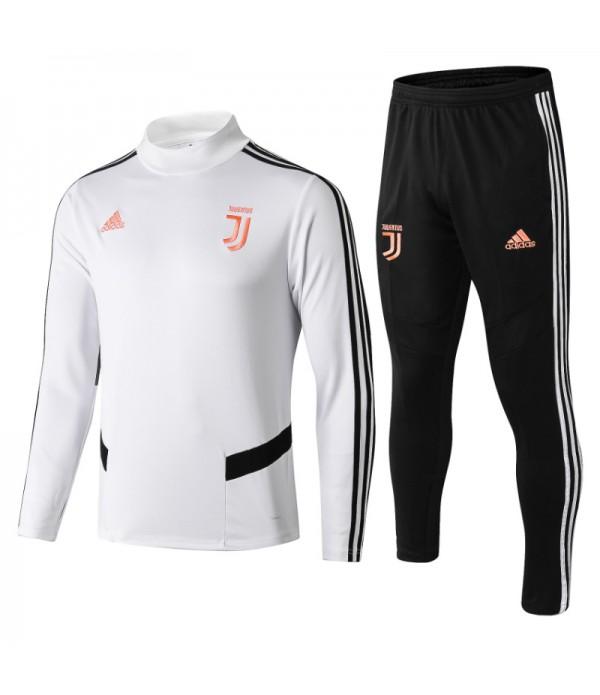 CFB3-Camisetas Chándal Juventus 2019 2020 Blanco JUNIOR