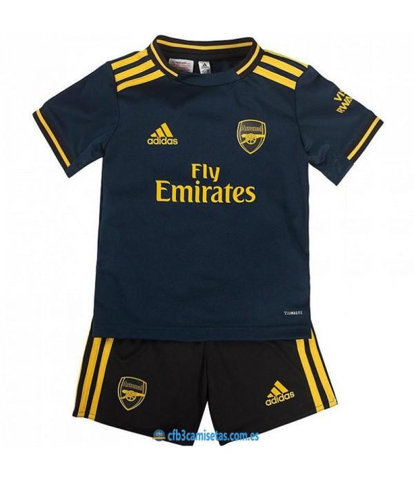 CFB3-Camisetas Arsenal 3a Equipación 2019 2020 Kit Junior