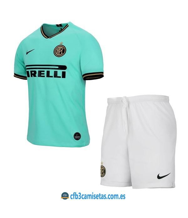 CFB3-Camisetas Inter Milan 2ª Equipación NIÑOS 2019 2020