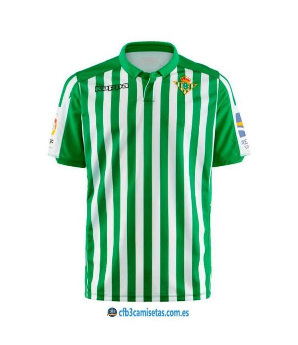 CFB3-Camisetas Betis 1ª Equipación 2019 2020