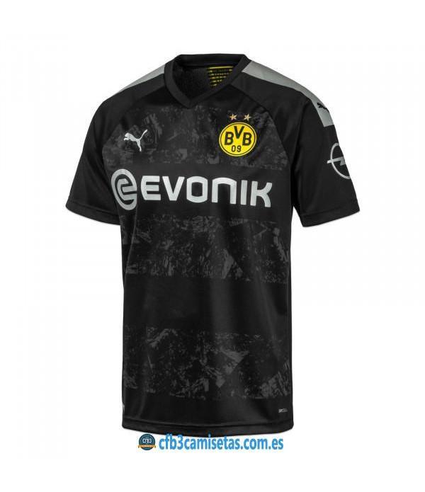 CFB3-Camisetas Borussia Dortmund 2a Equipación 2019 2020