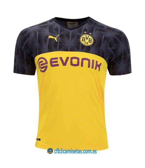 CFB3-Camisetas Borussia Dortmund 3a Equipación 2019 2020