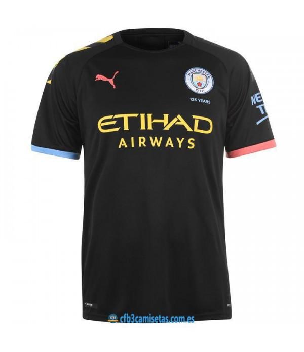 CFB3-Camisetas Manchester City 2a Equipación 2019 2020