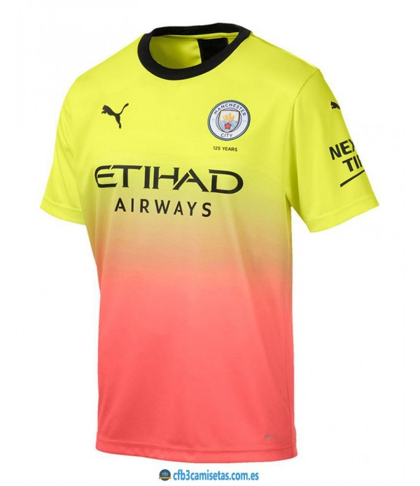 CFB3-Camisetas Manchester City 3a Equipación 2019 2020