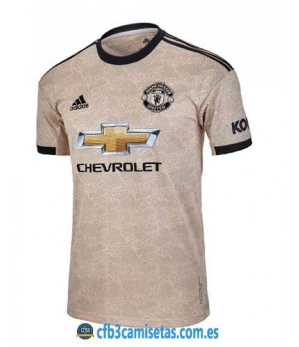 CFB3-Camisetas Manchester United 2a Equipación 2019 2020
