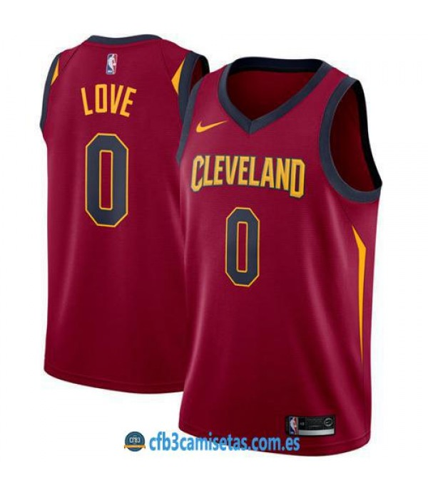 CFB3-Camisetas Kevin Love Cleveland Cavaliers Icon