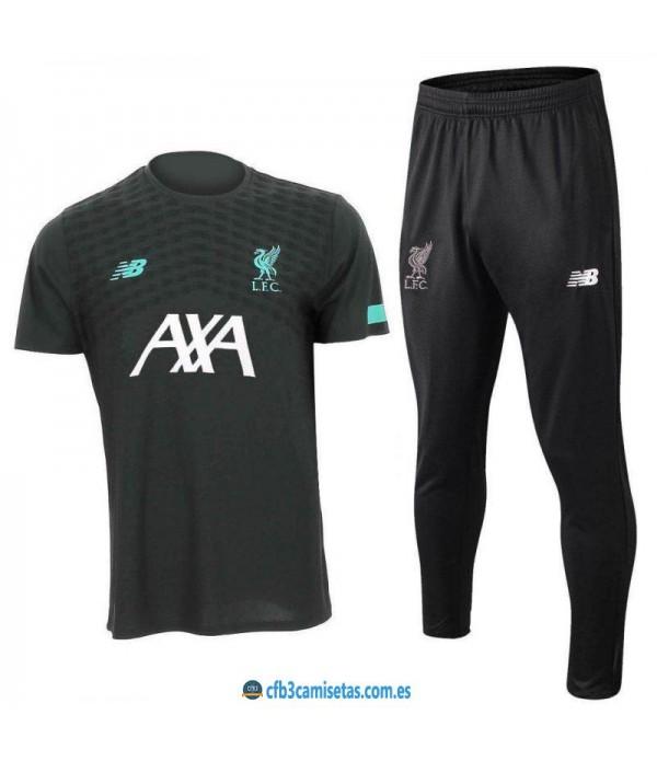 CFB3-Camisetas Camiseta  Pantalones Liverpool 2019 2020