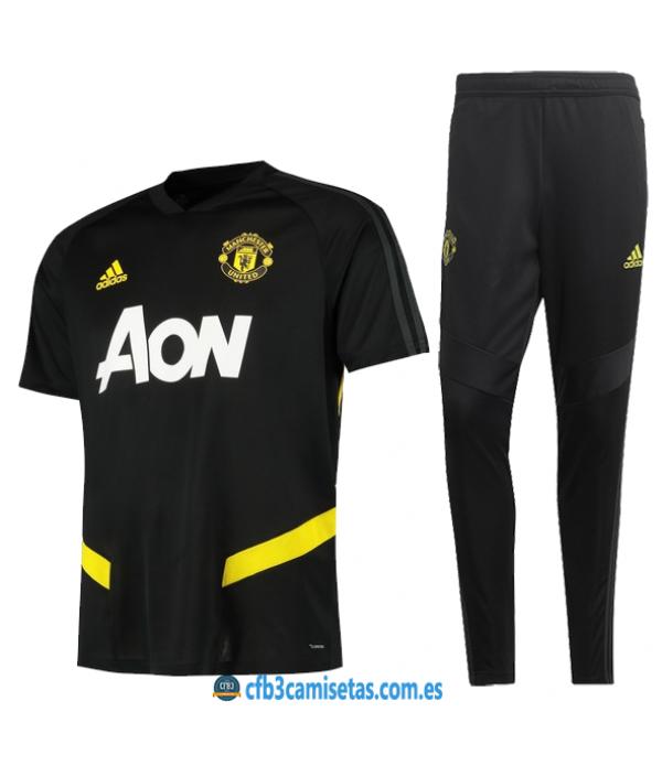 CFB3-Camisetas Camiseta  Pantalones Manchester United 2019 2020