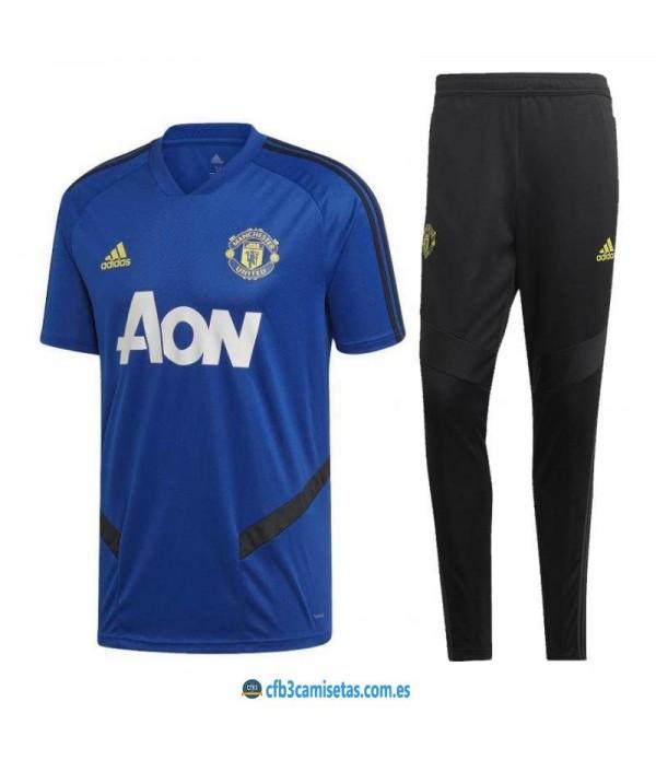 CFB3-Camisetas Camiseta  Pantalones Manchester Uni...