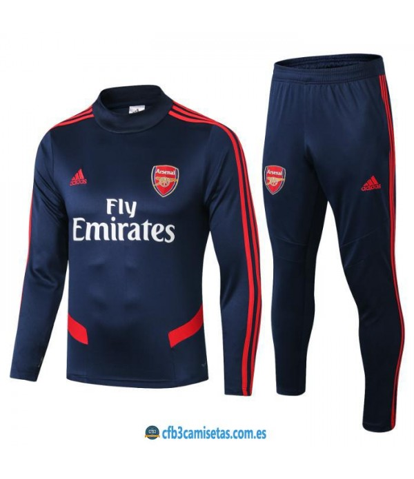 CFB3-Camisetas Chandal Arsenal 2019 2020 Sudadera