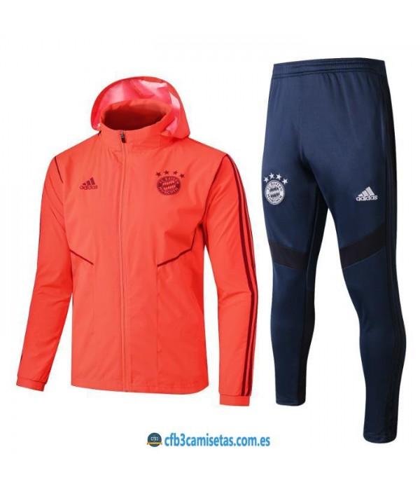 CFB3-Camisetas Chándal Bayern Munich 2019 2020 Capucha