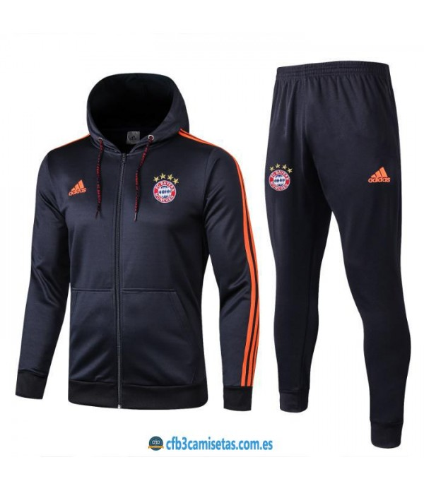 CFB3-Camisetas Chándal Bayern Munich 2019 2020 Orange
