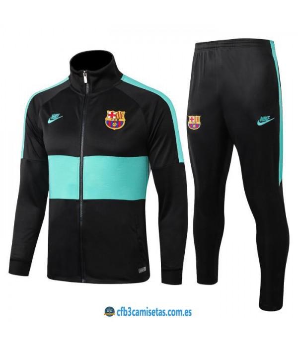 CFB3-Camisetas Chándal FC Barcelona 2019 2020 Raya