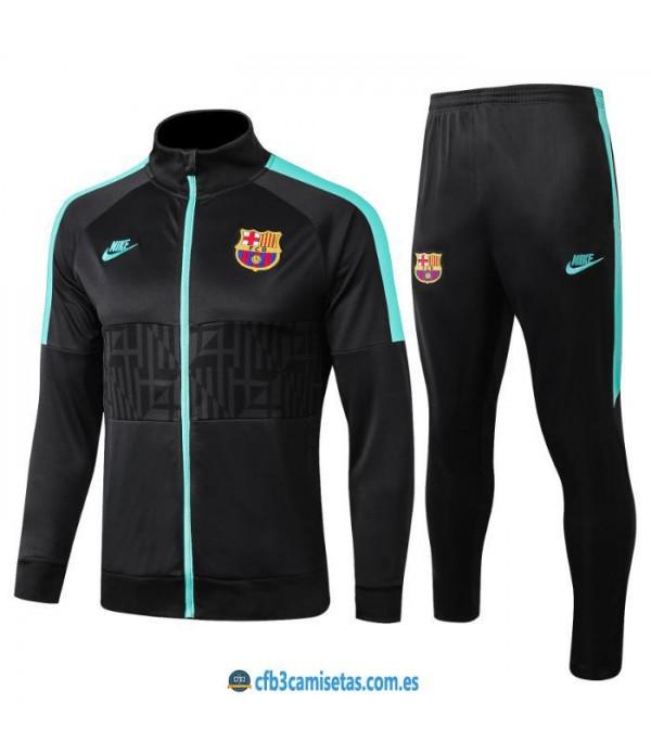 CFB3-Camisetas Chándal FC Barcelona 2019 2020 UCL