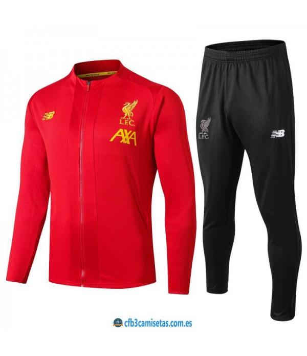 CFB3-Camisetas Chándal Liverpool 2019 2020 Rojo 2