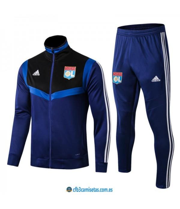 CFB3-Camisetas Chándal Olympique Lyon 2019 2020