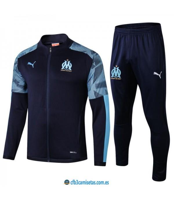CFB3-Camisetas Chándal Olympique Marsella 2019 20...
