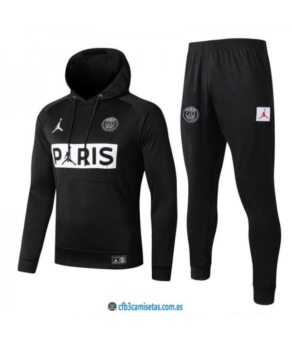 CFB3-Camisetas Chándal PSG x Jordan 2019 2020 Air PARIS