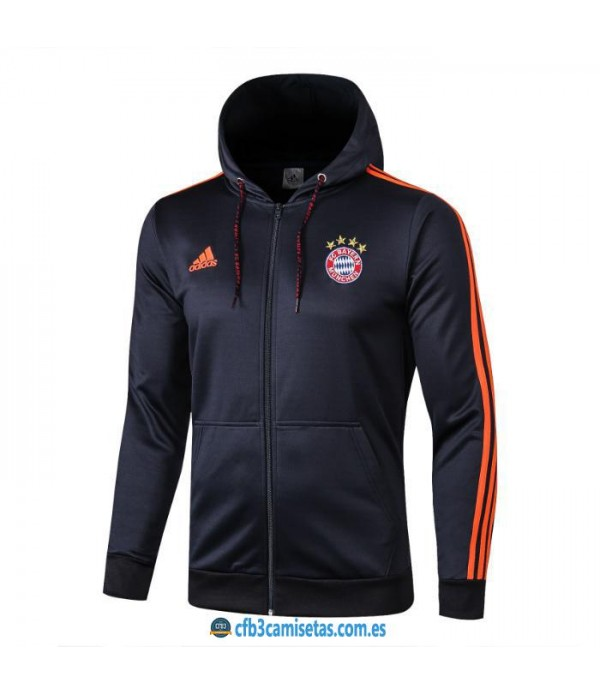CFB3-Camisetas Chaqueta Bayern Munich 2019 2020 Orange