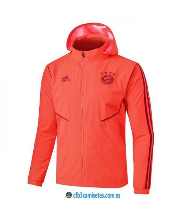 CFB3-Camisetas Chaqueta con capucha Bayern Munich 2019 2020
