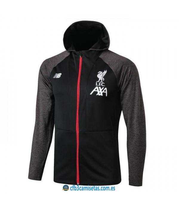 CFB3-Camisetas Chaqueta con capucha Liverpool 2019 2020