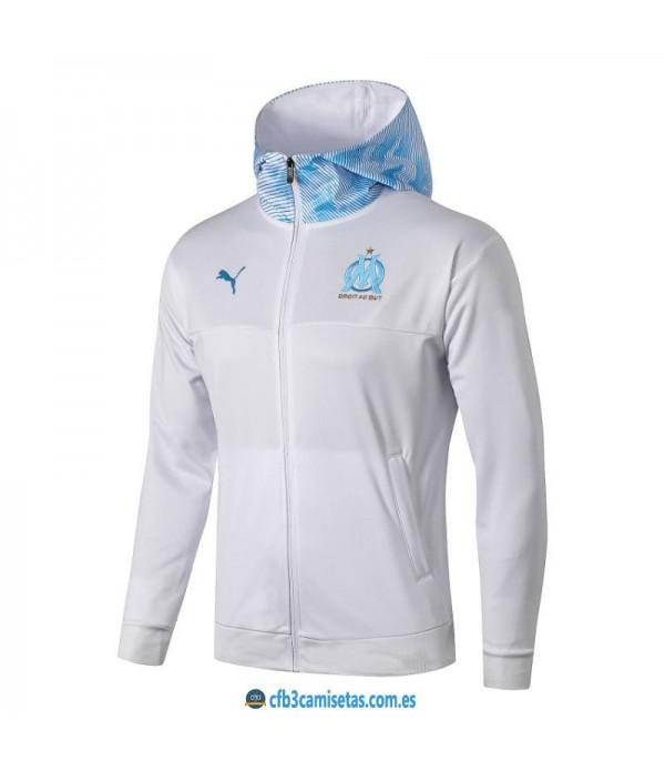 CFB3-Camisetas Chaqueta con capucha Olympique Mars...
