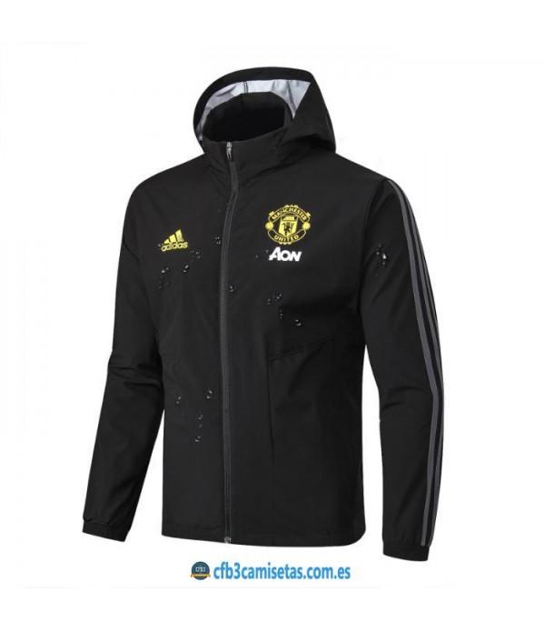 CFB3-Camisetas Chaqueta Manchester United 2019 202...