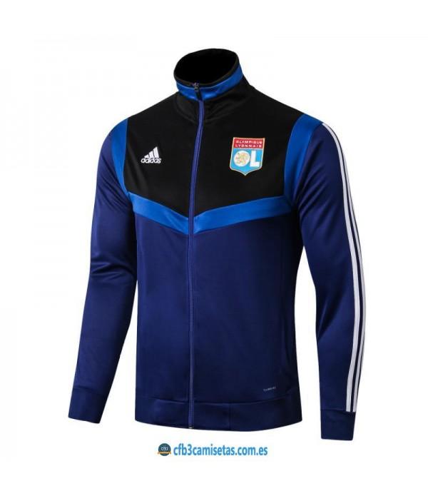CFB3-Camisetas Chaqueta Olympique Lyon 2019 2020