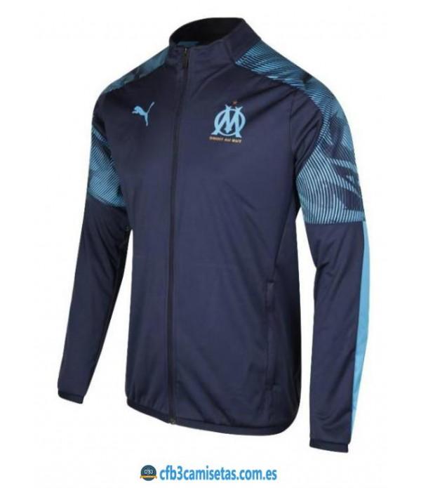 CFB3-Camisetas Chaqueta Olympique Marsella 2019 20...
