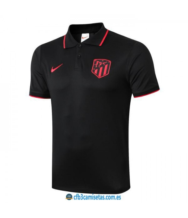 CFB3-Camisetas Polo Atlético Madrid 2019 2020