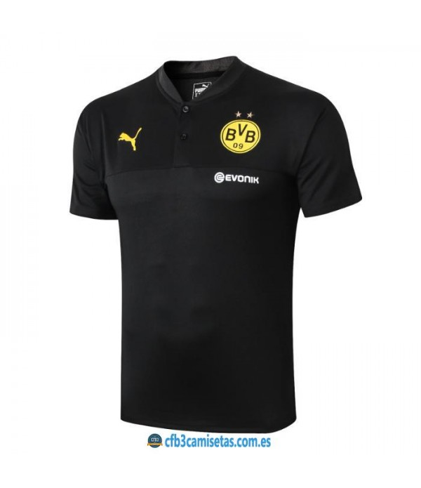 CFB3-Camisetas Polo Borussia Dortmund 2019 2020
