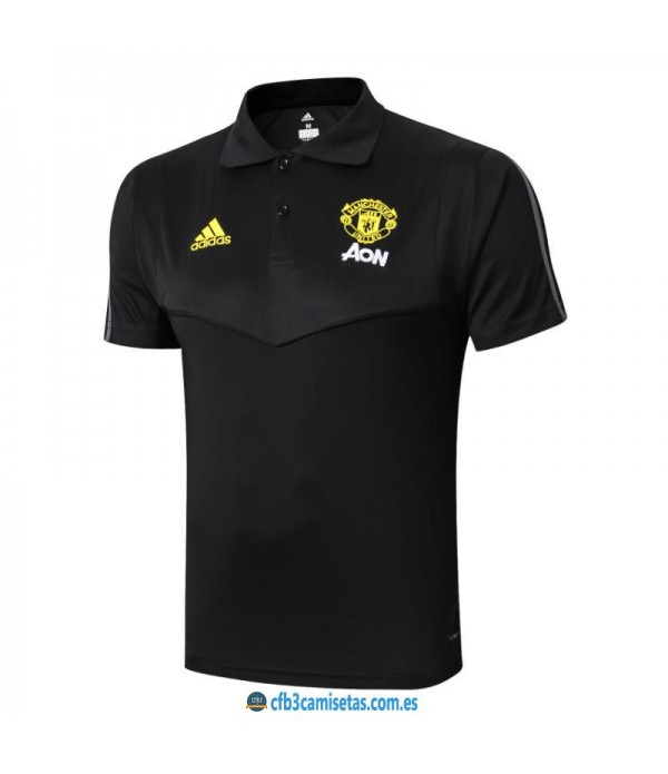 CFB3-Camisetas Polo Manchester United 2019 2020