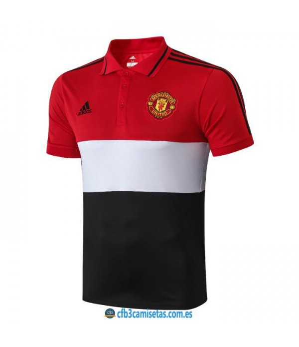 CFB3-Camisetas Polo Manchester United 2019 2020 Raya