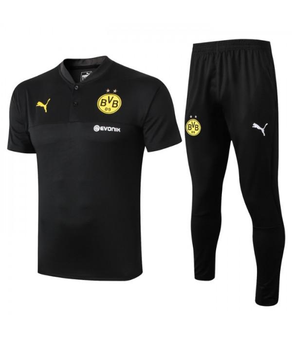CFB3-Camisetas Polo  Pantalones Borussia Dortmund 2019 2020
