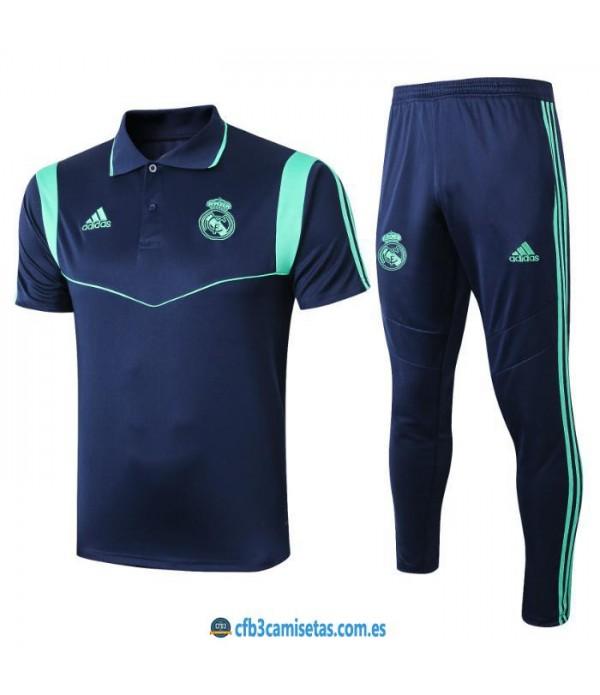CFB3-Camisetas Polo  Pantalones Real Madrid 2019 2...