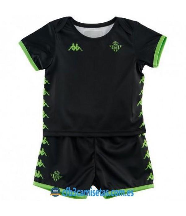 CFB3-Camisetas Betis 2a Equipación 2019 2020 Kit Junior