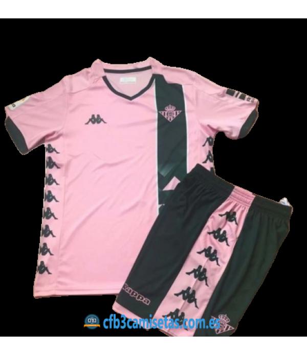 CFB3-Camisetas Betis 3a Equipación 2019 2020 Kit Junior