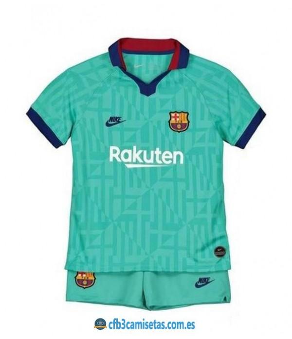 CFB3-Camisetas FC Barcelona 3ª Equipacion NIÑOS 19/20