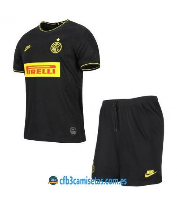 CFB3-Camisetas Inter Milan 3a Equipación 2019 2020 Kit Junior