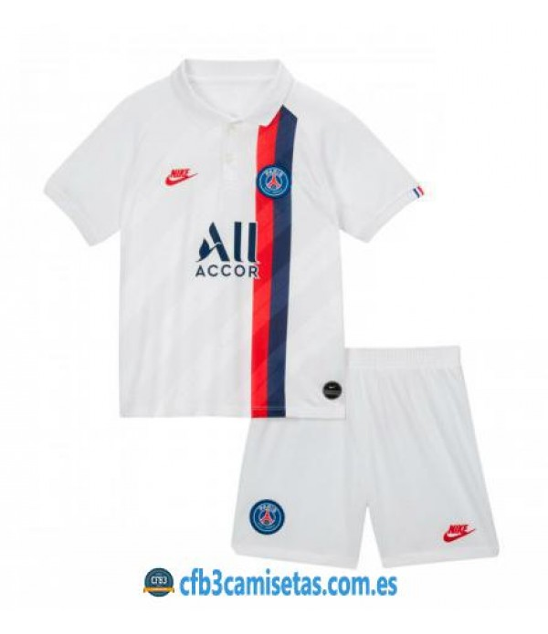 CFB3-Camisetas PSG 3a Equipación 2019 2020 Kit Junior