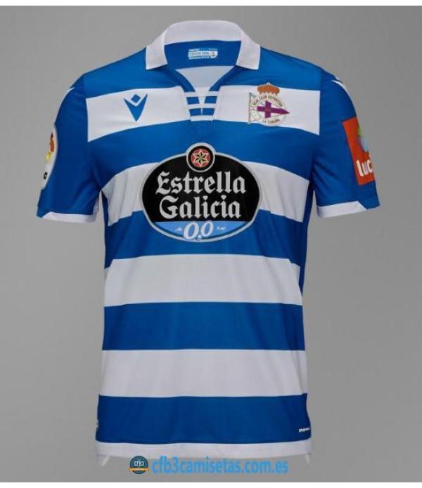 CFB3-Camisetas Deportivo La Coruña 1a Equipación 2019 2020