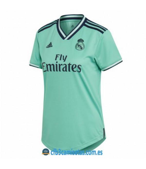CFB3-Camisetas Real Madrid 3a Equipación 2019 2020 MUJER