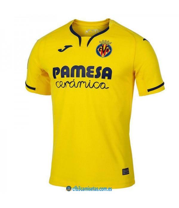 CFB3-Camisetas Villarreal 1ª Equipacion 2019 2020