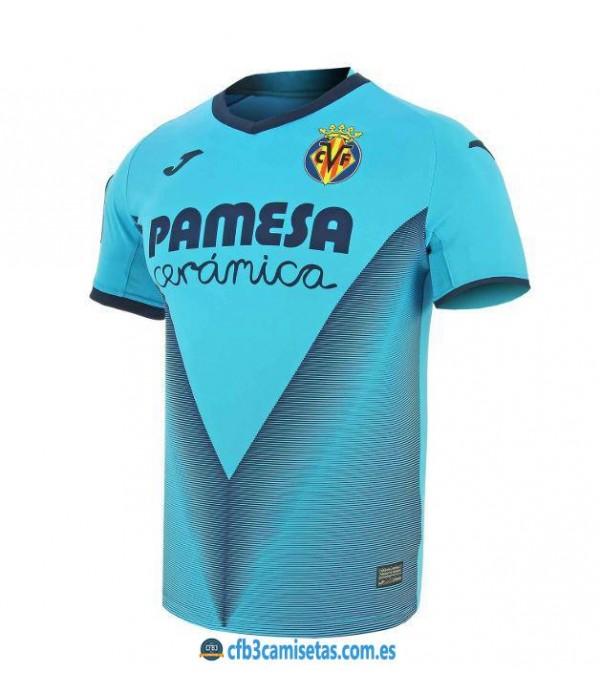 CFB3-Camisetas Villarreal 3ª Equipacion 2019 2020