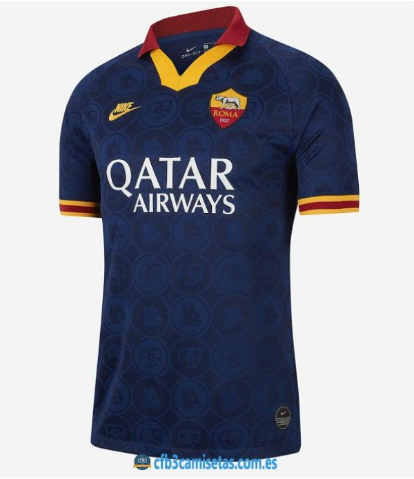 CFB3-Camisetas AS Roma 3a Equipación 2019 2020
