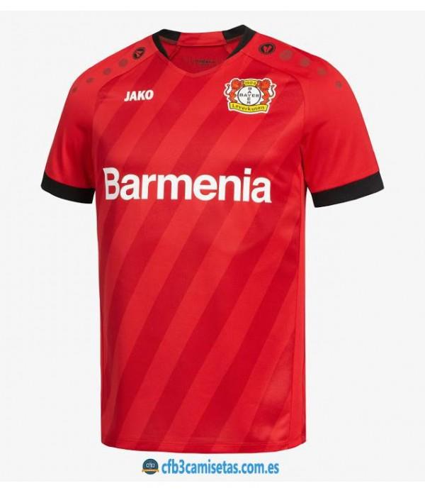 CFB3-Camisetas Bayer Leverkusen 1a Equipación 2019 2020