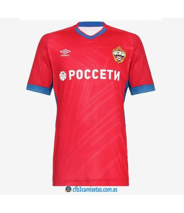 CFB3-Camisetas CSKA Moscú 1a Equipación 2019 2020