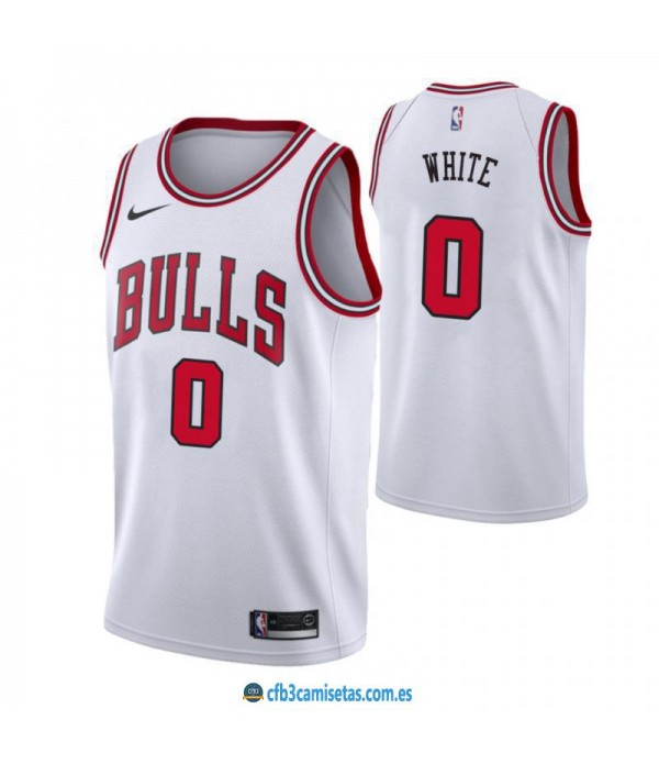 CFB3-Camisetas Coby White Chicago Bulls Association