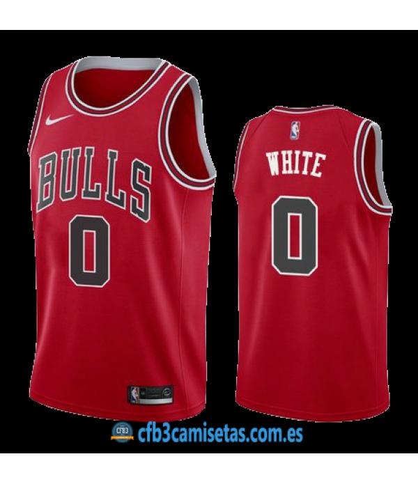 CFB3-Camisetas Coby White Chicago Bulls Icon