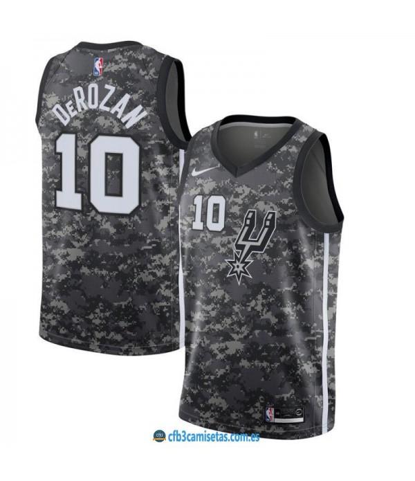 CFB3-Camisetas DeMar DeRozan San Antonio Spurs 2019 2020 City Edition